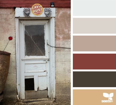 A Door Hues color palette by Design Seeds