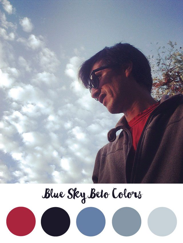Blue Sky Beto Color Palette - RKA ink