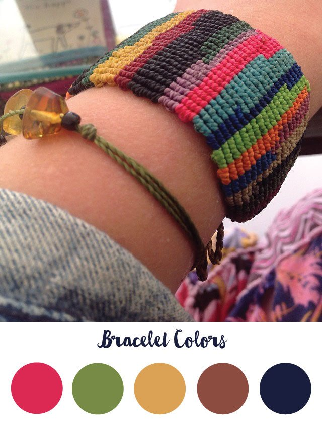 Bracelet Color Palette - RKA ink