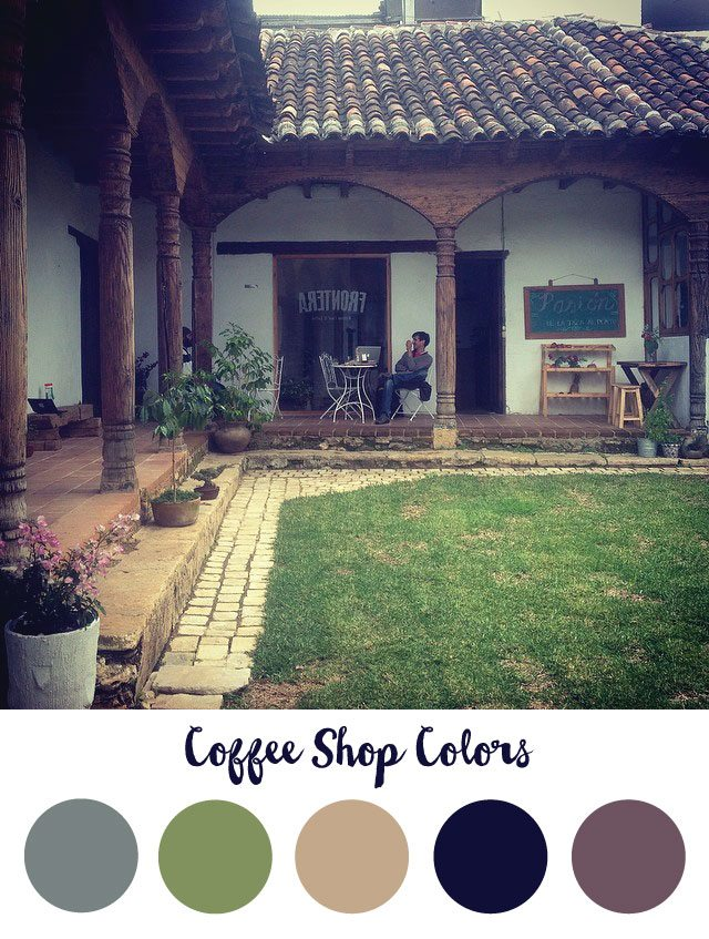 Coffee Shop Color Palette - RKA ink