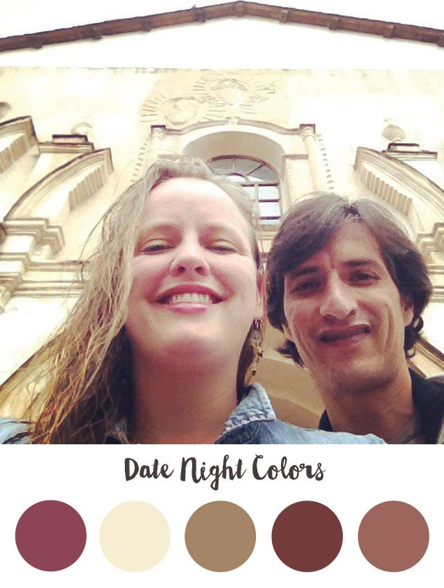 Date Night Color Palette - RKA ink