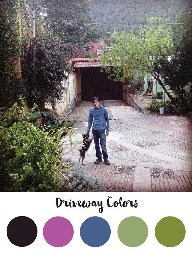Driveway Color Palette - RKA ink
