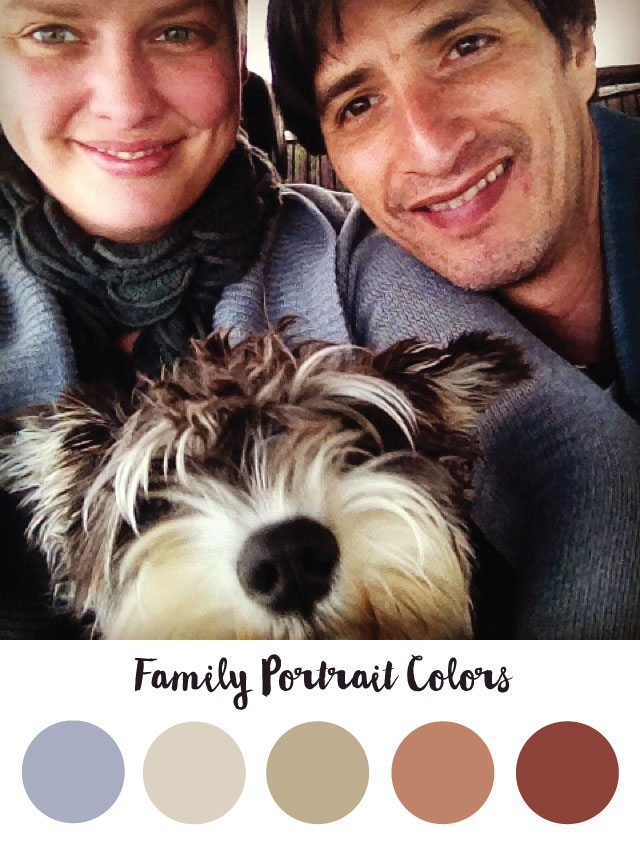 Family Portrait Color Palette - RKA ink