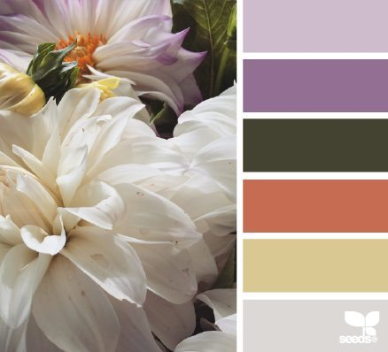 Flora Tones color palette by Design Seeds