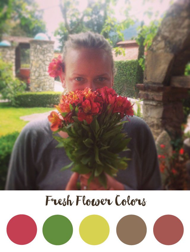 Fresh Flower Color Palette - RKA ink