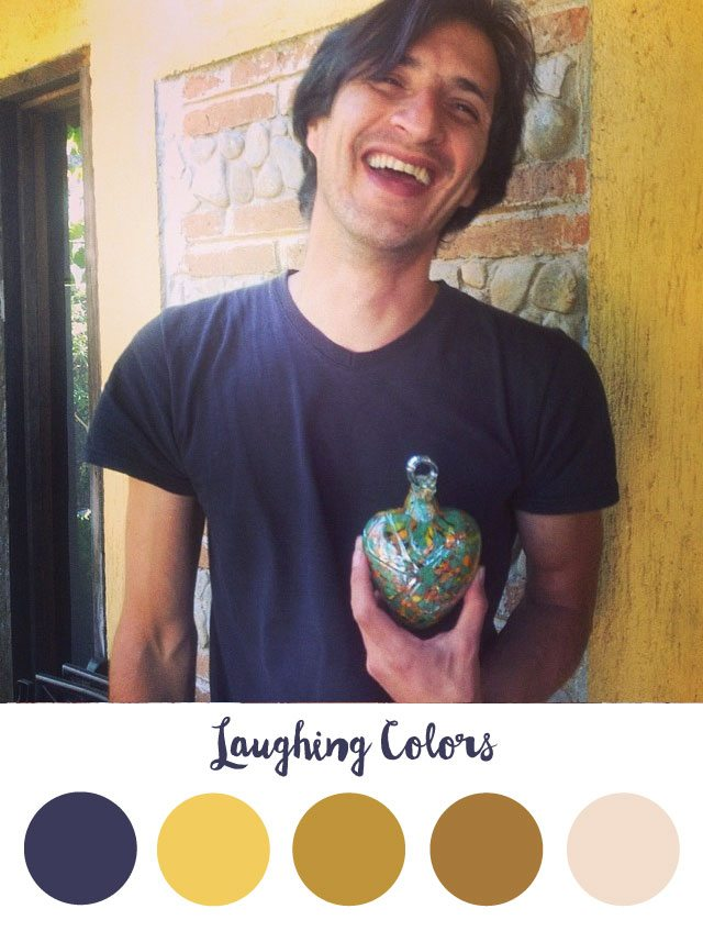 Laughing Color Palette - RKA ink