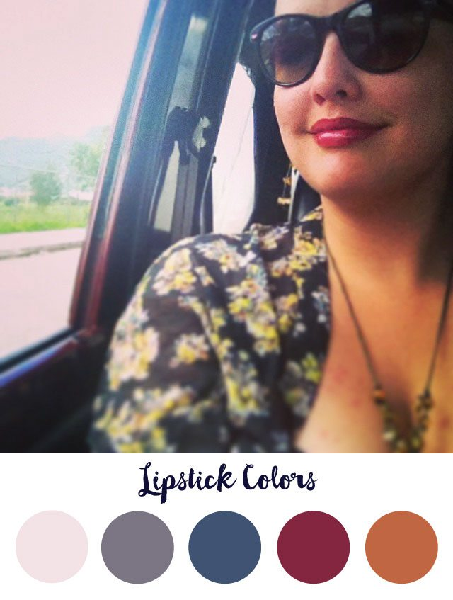 Lipstick Color Palette - RKA ink