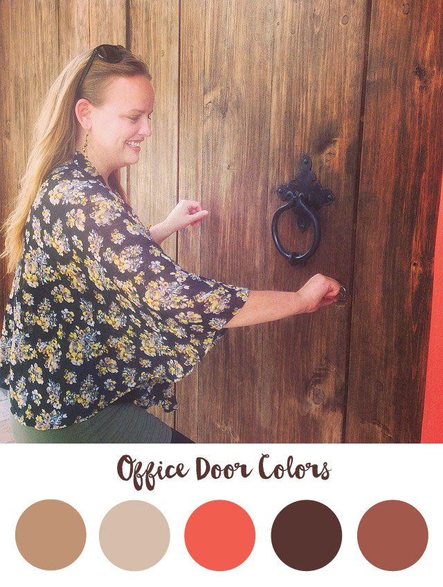 Office Door Color Palette - RKA ink