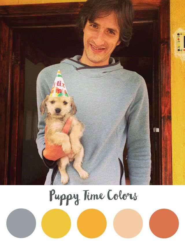 Puppy Time Color Palette - RKA ink