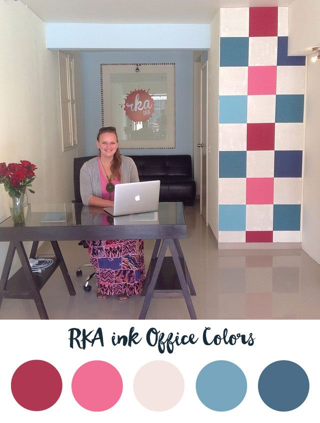 RKA ink Office Color Palette - RKA ink