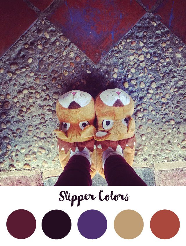 Slipper Color Palette - RKA ink