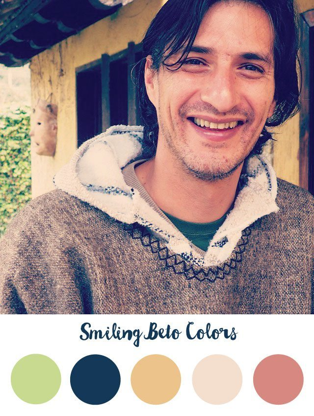 Smiling Beto Color Palette - RKA ink