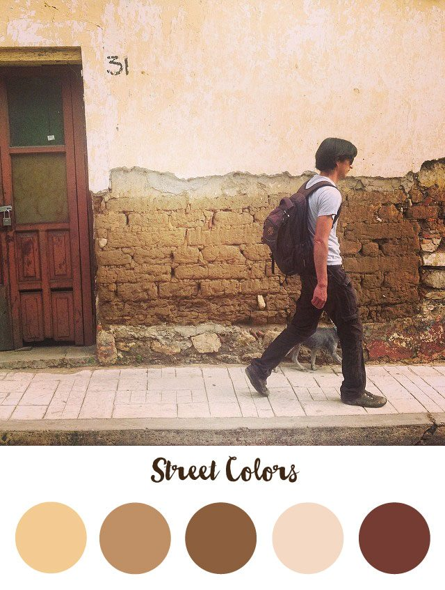 Street Color Palette - RKA ink