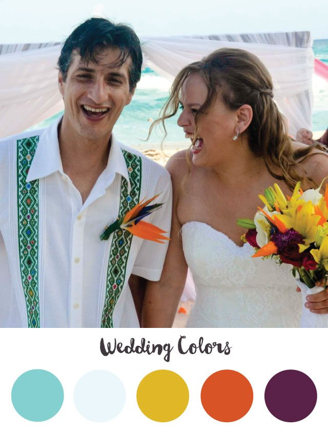 Wedding Color Palette - RKA ink