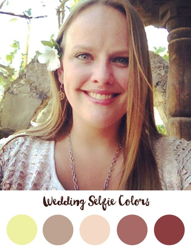 Wedding Selfie Color Palette - RKA ink