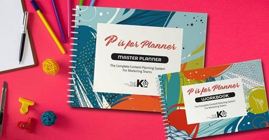 P is for Planner Entrepreneur Black Friday