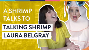 Interview with Talking Shrimp Laura Belgray