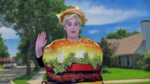 Talking hamburger Awkward Marketing